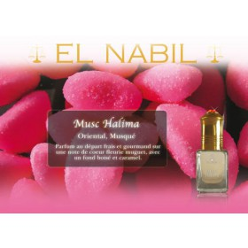 "Parfum El Nabil ""Musc Halima"" 5 Ml"
