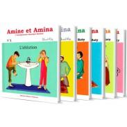 Amine et Amina : Toute la collection (6 livres)