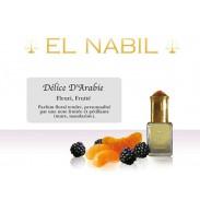 Parfum El Nabil : Délice D'Arabie (Femme/mixte)