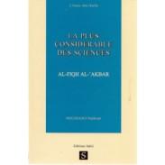 La plus considérable des sciences : fiqh al akbar