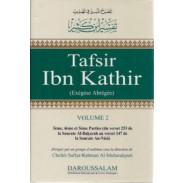 Tafsir Ibn Kathir : (du verset 253 de la sourate Al-bakarah au verset 147 de la sourate an-Nisâ) - Volume 2