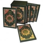 Coffret Coran Al-Tajwid en langue arabe (6 tomes) Hafs